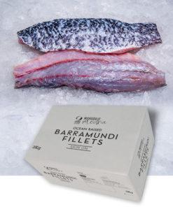 Skin on Barramundi Fillerts 3kg